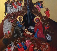 Nativity of Christ by AgnesZirini