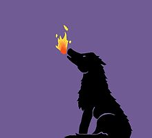 Howling Wolf Flame by Casey Lynn