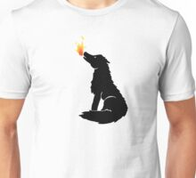 Howling Wolf Flame Unisex T-Shirt
