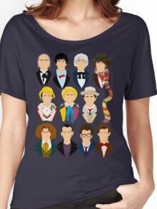 The Eleven Doctors  Women's Relaxed Fit T-Shirt