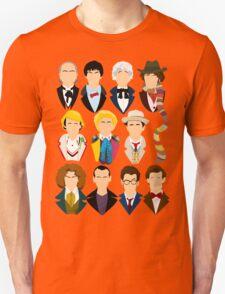 The Eleven Doctors  Unisex T-Shirt