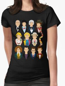 The Eleven Doctors  Womens Fitted T-Shirt