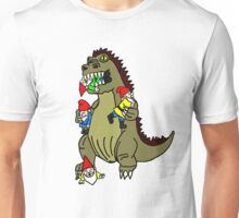Godzilla Monster and Gnomes Unisex T-Shirt