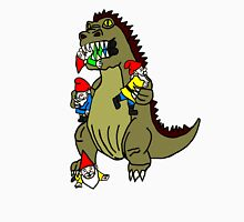 Godzilla Monster and Gnomes Unisex T-Shirt