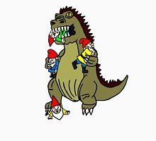 Godzilla Monster and Gnomes T-Shirt