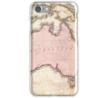 Vintage Map of Australia (1818) iPhone Case/Skin