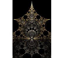 Moonlit Pagoda Photographic Print