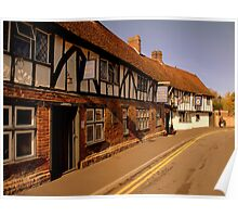The Rose and Crown Hotel ~ Salisbury Poster