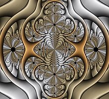 Pewter and Brass I by Ross Hilbert