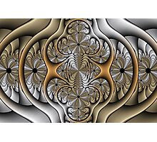 Pewter and Brass I Photographic Print