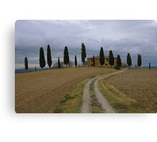 Casale Pienza Canvas Print