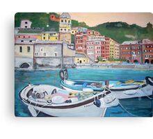 Vernazza Harbor, Italy Canvas Print
