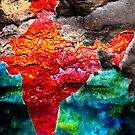 India or  Patterns in rust by vesa50