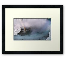 The End of the Rainbow Framed Print