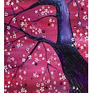 Black Cherry iPhone/iPod Cover by Genevieve  Cseh
