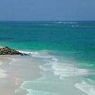Cranes Beach Barbados by Marylee Pope