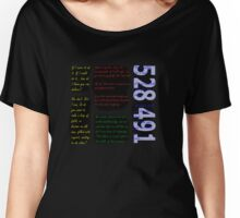 Inception - 528491 Women's Relaxed Fit T-Shirt