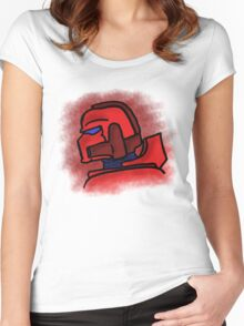 Blood Marine Women's Fitted Scoop T-Shirt
