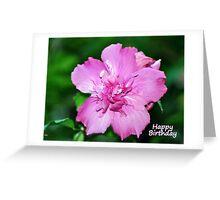 Happy Birthday Card - Floral Greeting Card