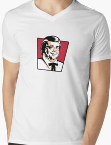 Colonel George Mens V-Neck T-Shirt