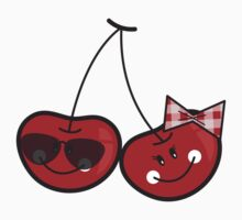 Boy & Girl Cheeky Cherries T-shirt Kids Clothes
