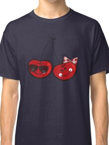 Boy & Girl Cute Cheeky Cherries Classic T-Shirt