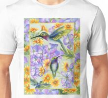 Hummingbird Duo Unisex T-Shirt