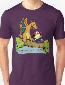 Calvin and Hobbes Pokemon T-Shirt