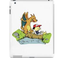 Calvin and Hobbes Pokemon iPad Case/Skin
