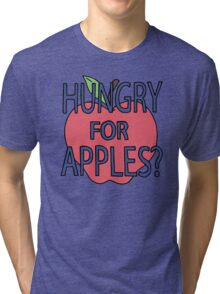 Rick & Morty - Hungry for Apples Tri-blend T-Shirt