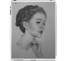 Zoe Sugg Drawing iPad Case/Skin