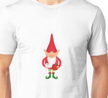 Standing Christmas Elf Unisex T-Shirt