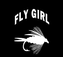 FLY GIRL - IPHONE CASE by Marcia Rubin