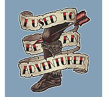 Adventurer Like You Photographic Print