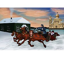 Troika - Winter Scene Photographic Print