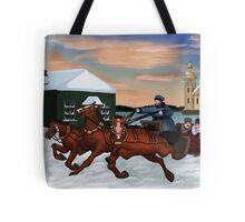 Troika - Winter Scene Tote Bag