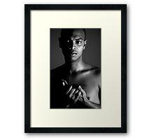 Wringing Hands... Framed Print