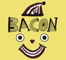 Bacon Face Kids Tee