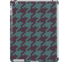 Faux Knit Houndstooth iPad Case/Skin