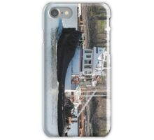 Tug Boat on Fraser River, Vancouver BC... iPhone Case/Skin