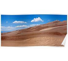 Dune Panorama - Great Sand Dunes, Colorado Poster