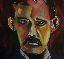 Edvard Munch by Debbie  Adams