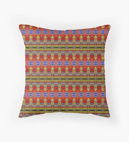 The Swatch Throw Pillow