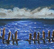 Pamlico Sound by Debbie  Adams