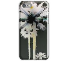 Palmtree B & W Reversed... iPhone Case/Skin