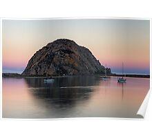 Morro Bay at Dawn Poster
