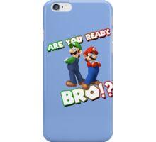 Super Mario & Luigi iPhone Case/Skin