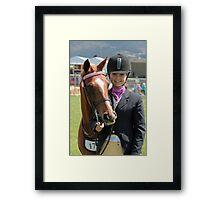 My Pony Calendar 2011 - Royal Hobart Show Calendar N0 8 Framed Print