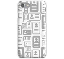 Cut away background iPhone Case/Skin