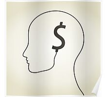 Dollar a head Poster